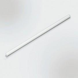 Main courante, Rampe Barre d'appui en plastique 80 cm, blanc, rainurée AA6077 Homecraft