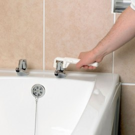 Tourne robinet réglable Crystal AA6210W, Personnes âgées