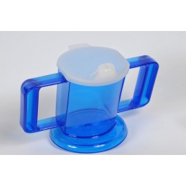 Tasse 2 anses inclinée Handycup, Graduations, 230 ml