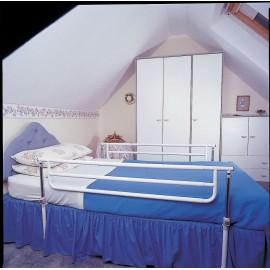 Barrières de lit pour adulte, 2 rambardes AA3420, Ne pas tomber du lit
