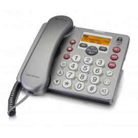Téléphone pour Malvoyant et Malentendant PowerTel 58 Plus AMPLICOMMS