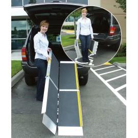 Rampes pour Fauteuil Roulant Portable Pliante pour Passage des Escaliers 2m13