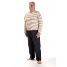 Pull Pantalon Grenouillère Homme Salon Taille 50/52