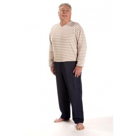 Grenouillère Pull pantalon Homme Salon Taille 46/48, Utilisation de jour