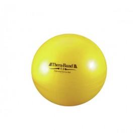 Gym avec ballon, diamètre 45cm, Argent, Anti-éclatement, THERA-BANDE