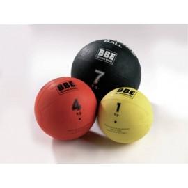 Medecine Ball, Caoutchouc, 1kg, Multifonction, bases musculaires