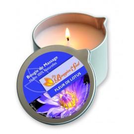 Bougie de massage - Fleur de Lotus