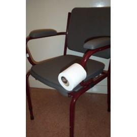 Support de Papier Toilette pour Chaise Percée