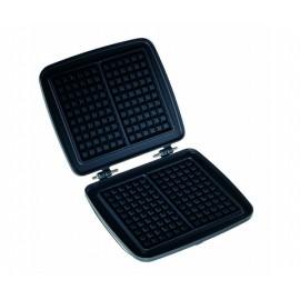 Plaque Gaufrier Electrique Multex (6x10) pour cuisiner deux gaufres en quelques minutes, FRIFRI