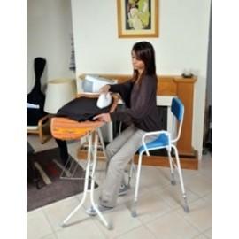 Chaise haute réglable : cuisine, douche et repassage