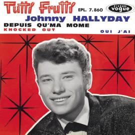 Johny Hallyday, Tutti Frutti, album des années yéyé, variété française