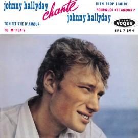 Johnny Hallyday chante Johnny Hallyday, CD années 60, variété française