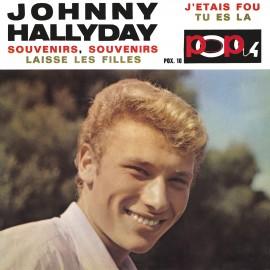 Johny Hallyday, Souvenirs Souvenirs, CD années 60, culture yéyé