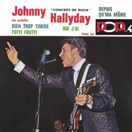 Johny Hallyday, Concert de Rock, musique rock'n'roll, variété française