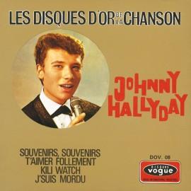 Johny Hallyday, Les Disques d'Or de la Chanson, musiques des années 60, variété française