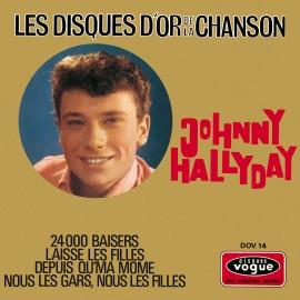 Johny Hallyday, BEST OF, Les Disques d'Or de la Chanson, musiques des années 60,