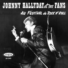 "Johnny Hallyday, ""Johnny Hallyday et ses fans au festival du r'n'r"", années 60, variété française"