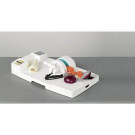 Mâchoire de serrage, Planche à découper, Maintenir les aliments HOMECRAFT