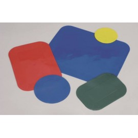 Set de Table Antidérapant DYCEM Rectangulaire bleu 35 x 25 cm