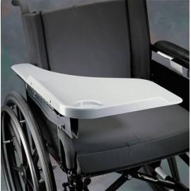Table fauteuil roulant pour lire, écrire ou manger