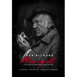 DVD série Maigret, coffret métal n°2, commissaire, enquêtes, Dominique Blanchar, Jean Dessailly, François Cadet