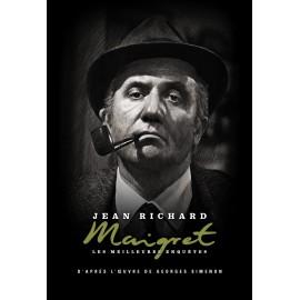 DVD Maigret, Jean Richard, Michel Blanc, Coffret métal N°6, commissaire