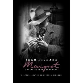 DVD commissaire Maigret, enquêtes, Jean Richard, coffret métal N°5