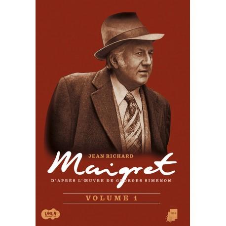 DVD Enquete Maigret, Jean Richard, comissaire, François Cadet
