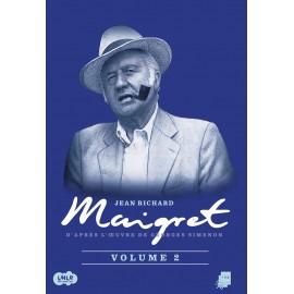 DVD Commissaire Maigret, enquêtes, Jean Richard, André Dumas, coffret