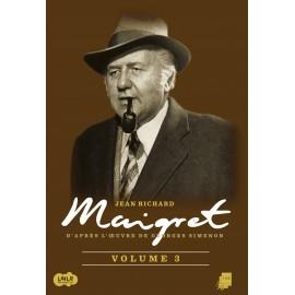 DVD Episodes Maigret, Inspecteur, Enqueteur, Jean Richard, Dominique Blanchar, Andrex