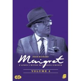 Maigret en DVD, épisodes 13 à 16, Jean Richard, Jacques serres