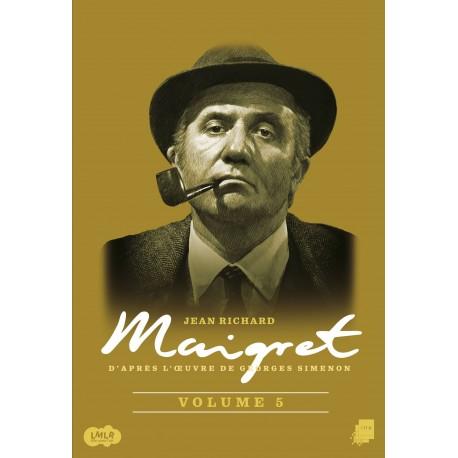 Maigret enquête, commissaire, Jean Richard, François Cadet, Mony Dalmes, Annick Alane