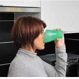 Verre à découpe nasale 270 ml, Gobelet pour boire en restant droit