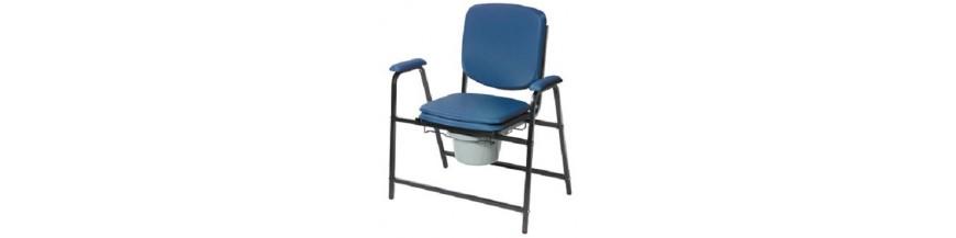Chaise percée sans roulettes