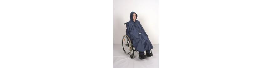 Imperméables pour fauteuil roulant